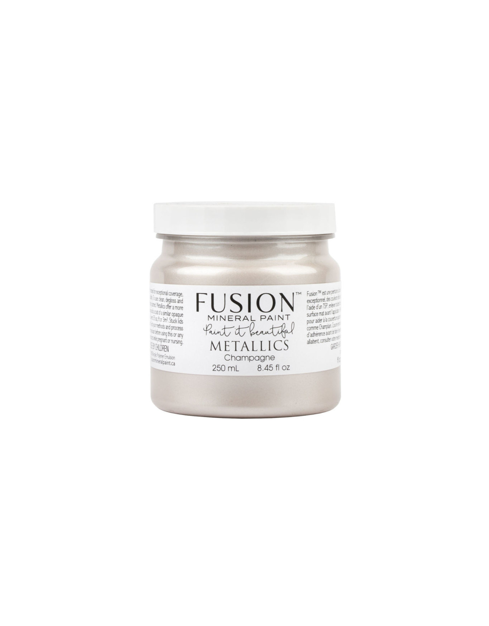 Fusion Mineral Paint Metallic 250ml Champagne