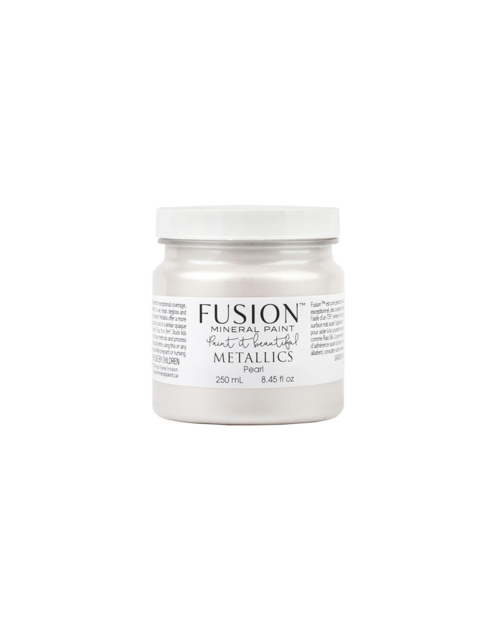 Fusion Mineral Paint Metallic 250ml Pearl