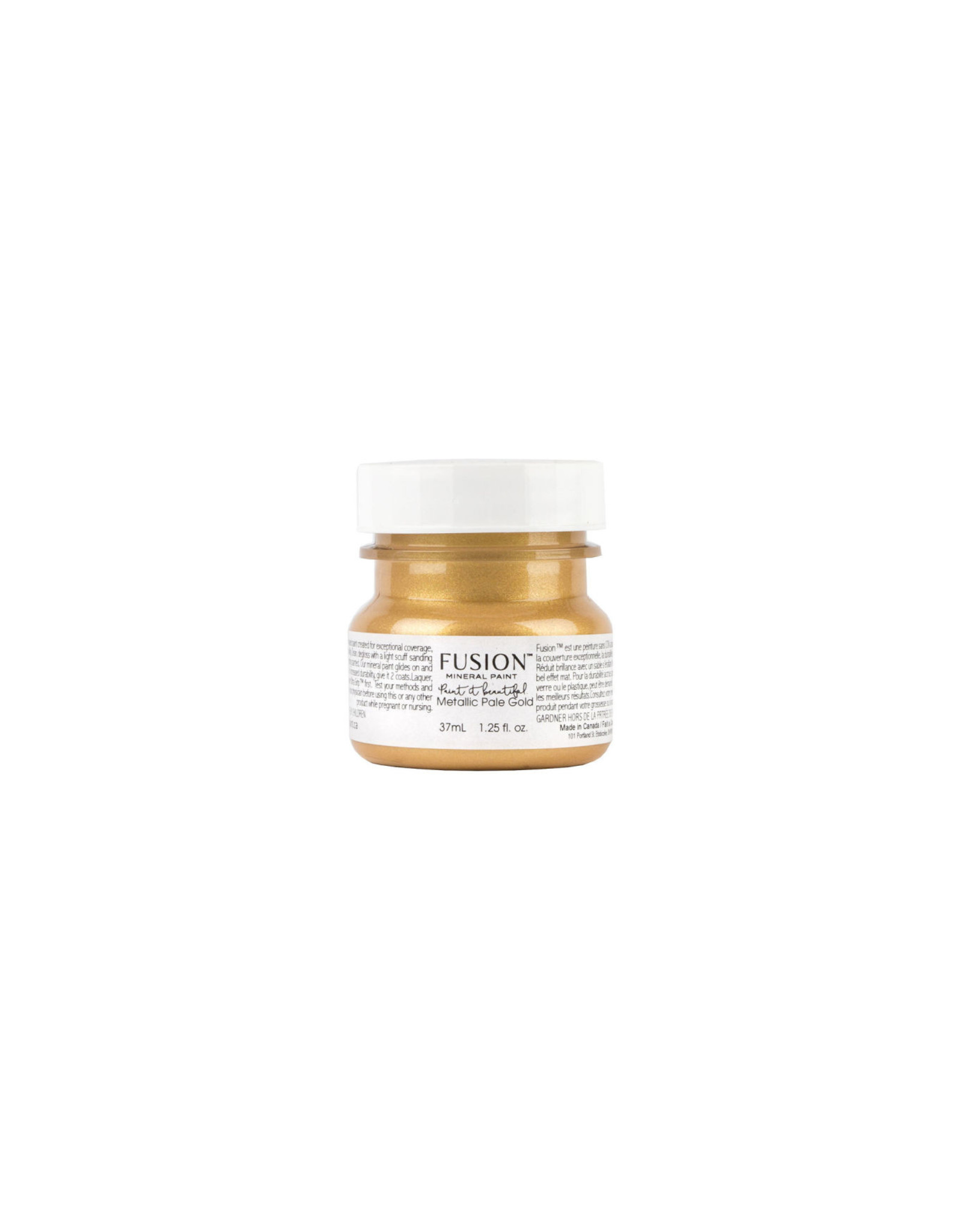 Fusion Mineral Paint Metallic 37ml Pale Gold