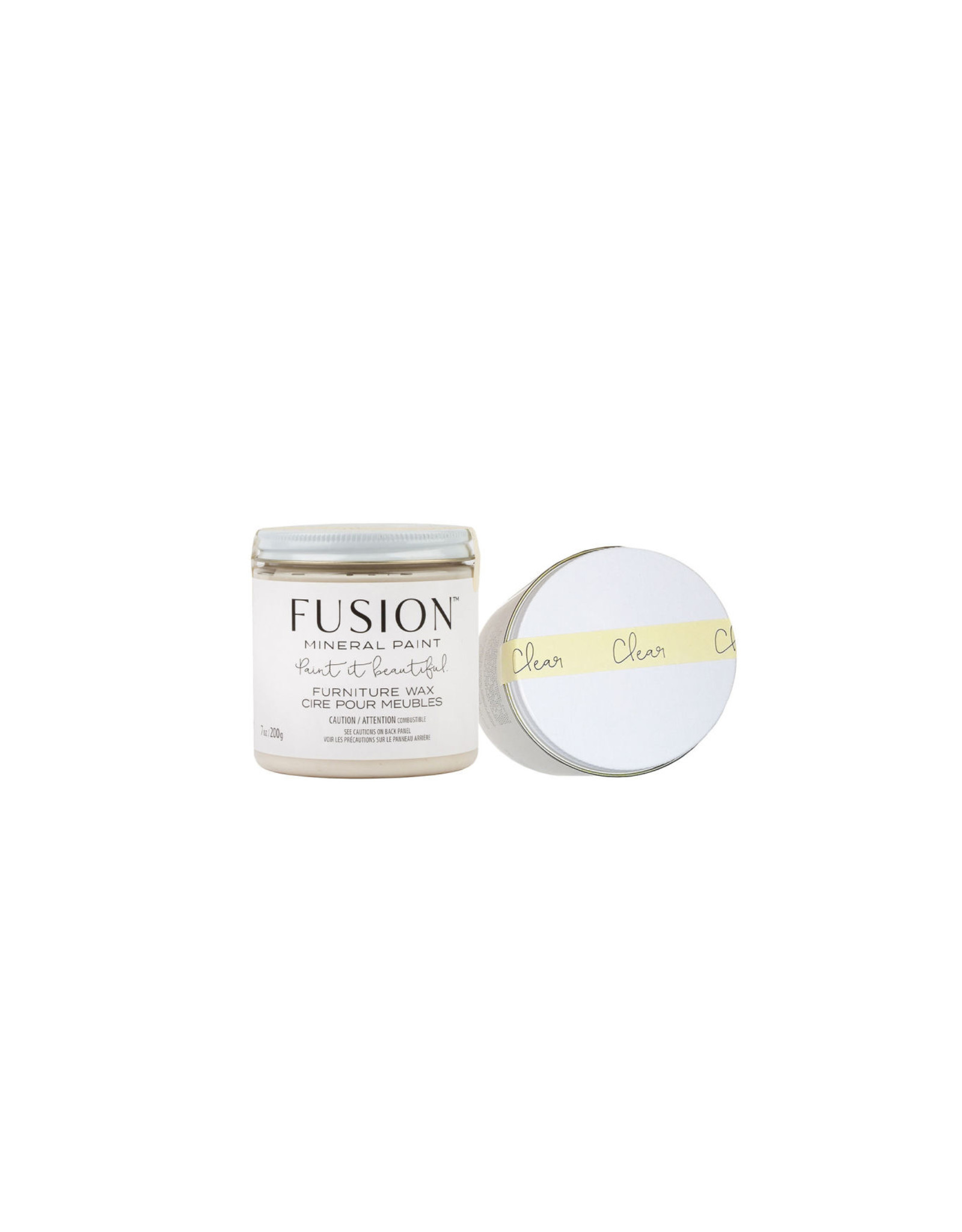 Fusion Mineral Paint Furniture Wax 200g Clear