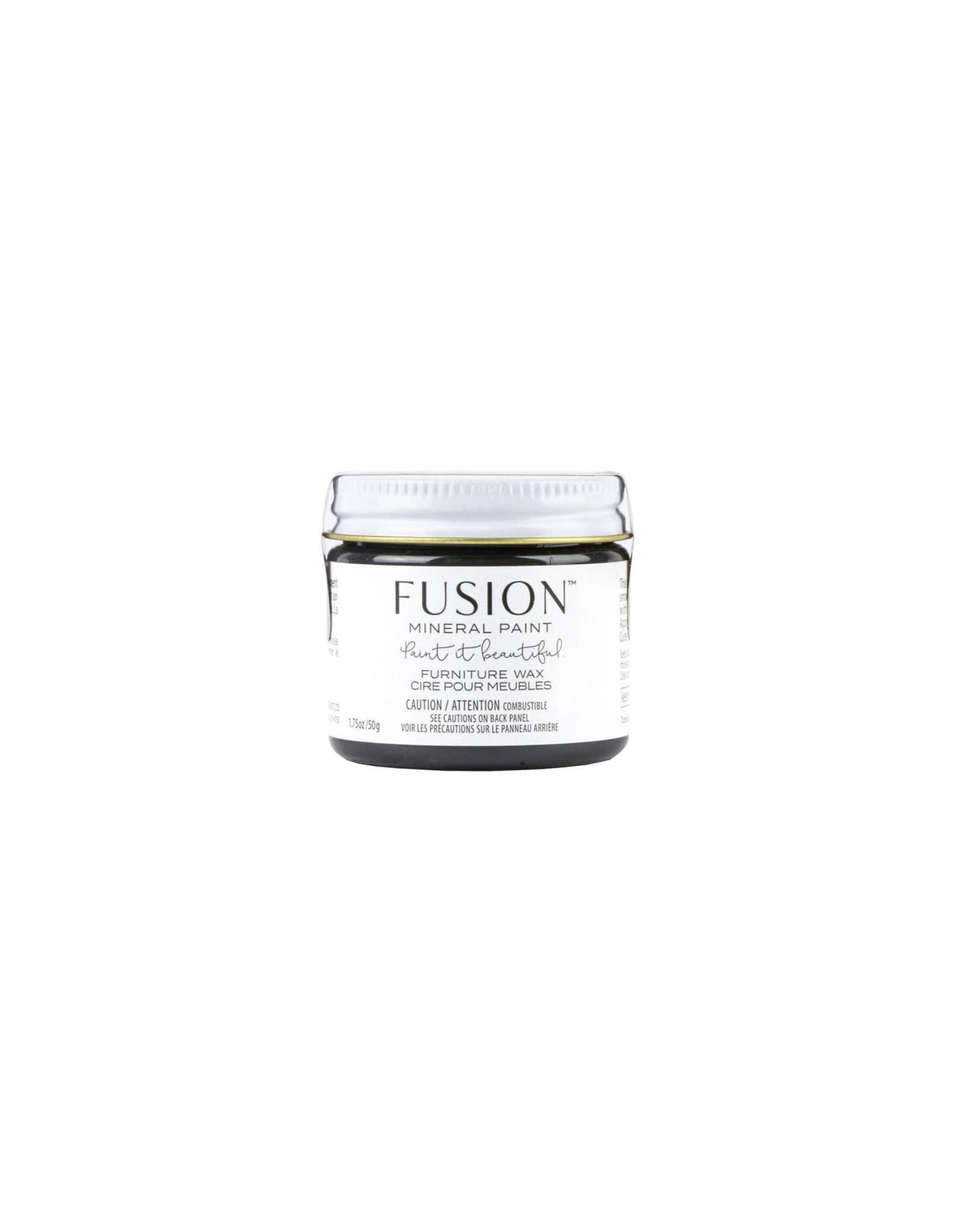 Fusion Mineral Paint Furniture Wax 50g - Black