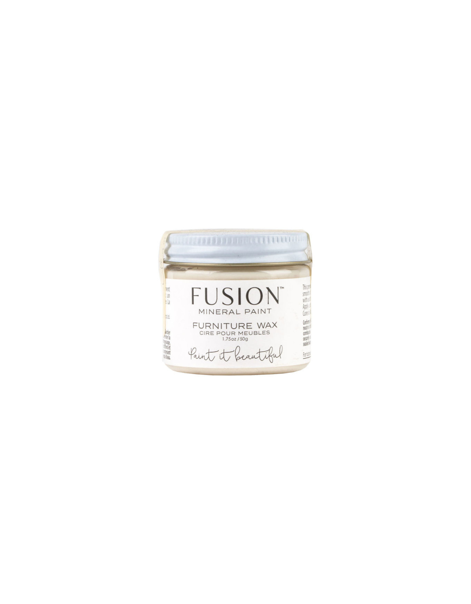 Fusion Mineral Paint Furniture Wax 50g - Clear