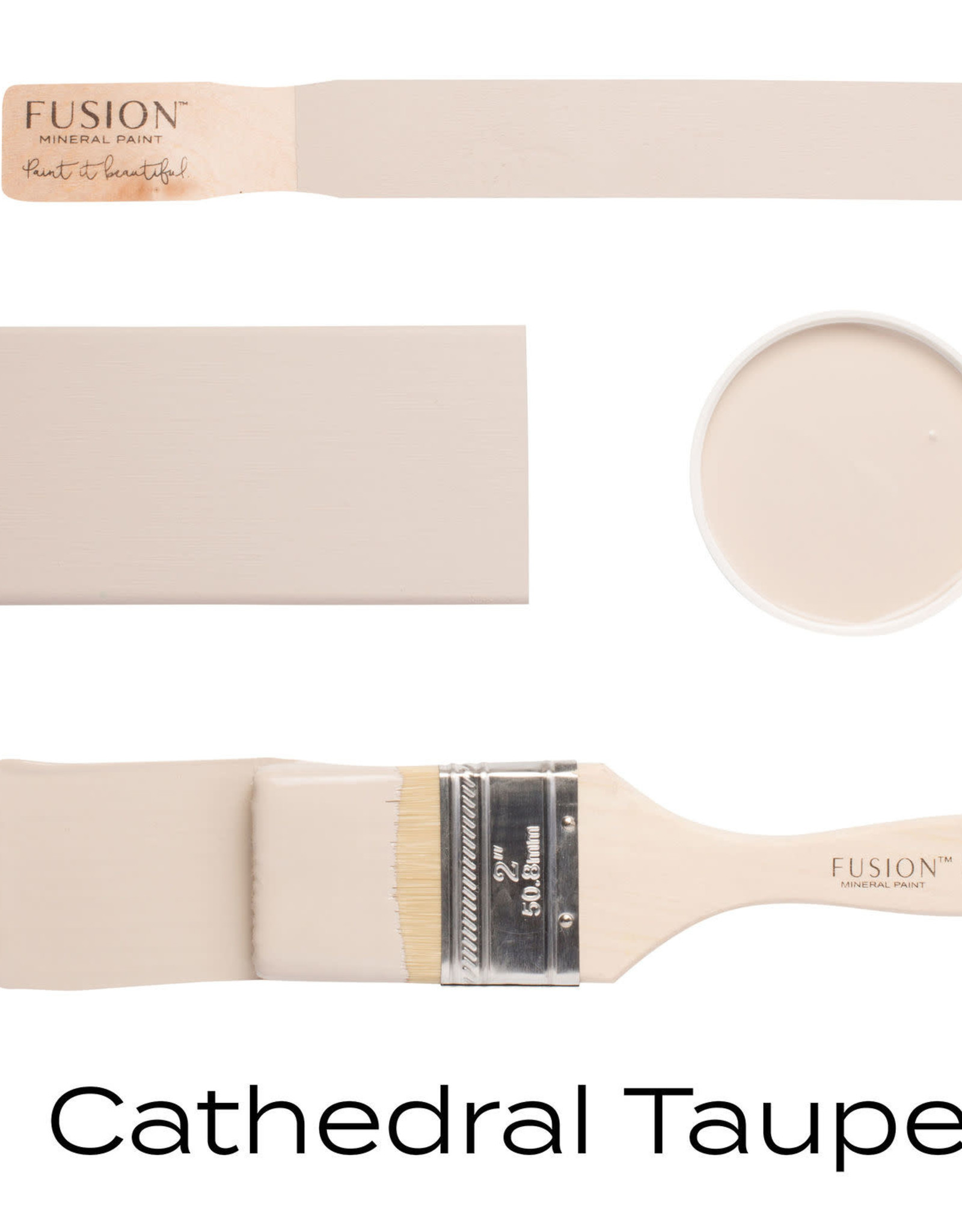Fusion Mineral Paint Fusion Mineral Paint - Cathedral Taupe 37ml