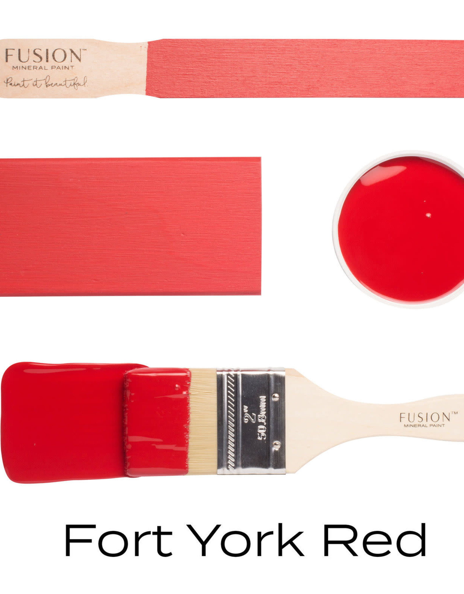 Fusion Mineral Paint Fusion Mineral Paint - Fort York Red 37ml