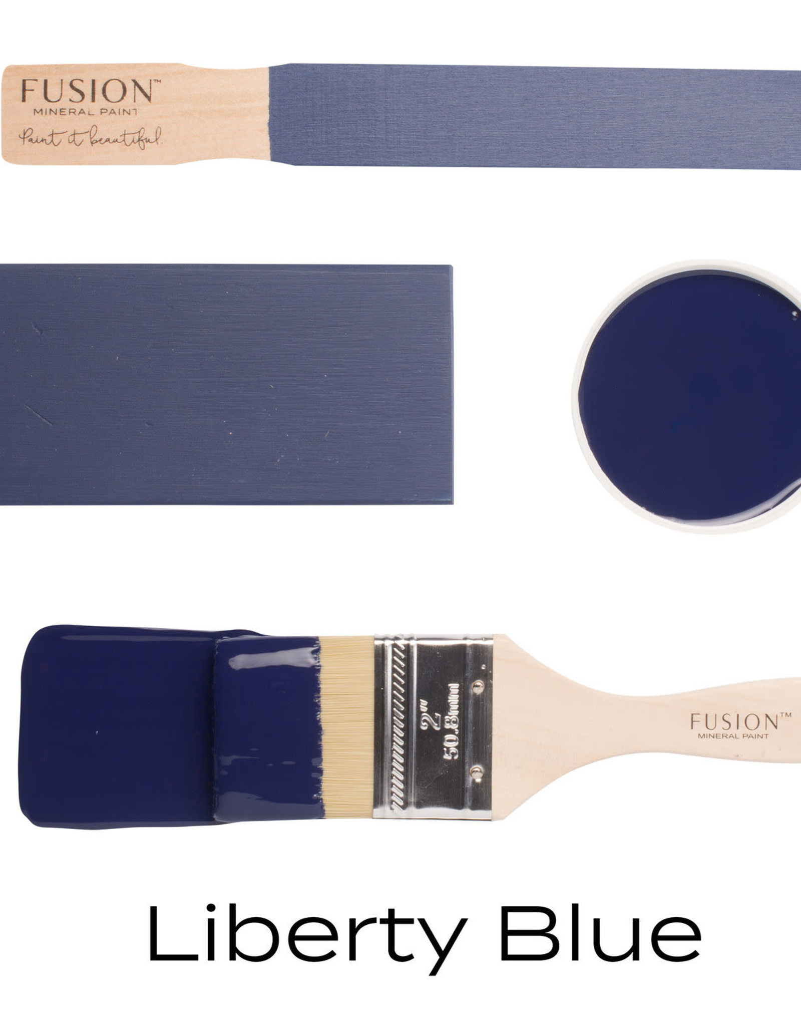 Fusion Mineral Paint Fusion Mineral Paint - Liberty Blue 37ml
