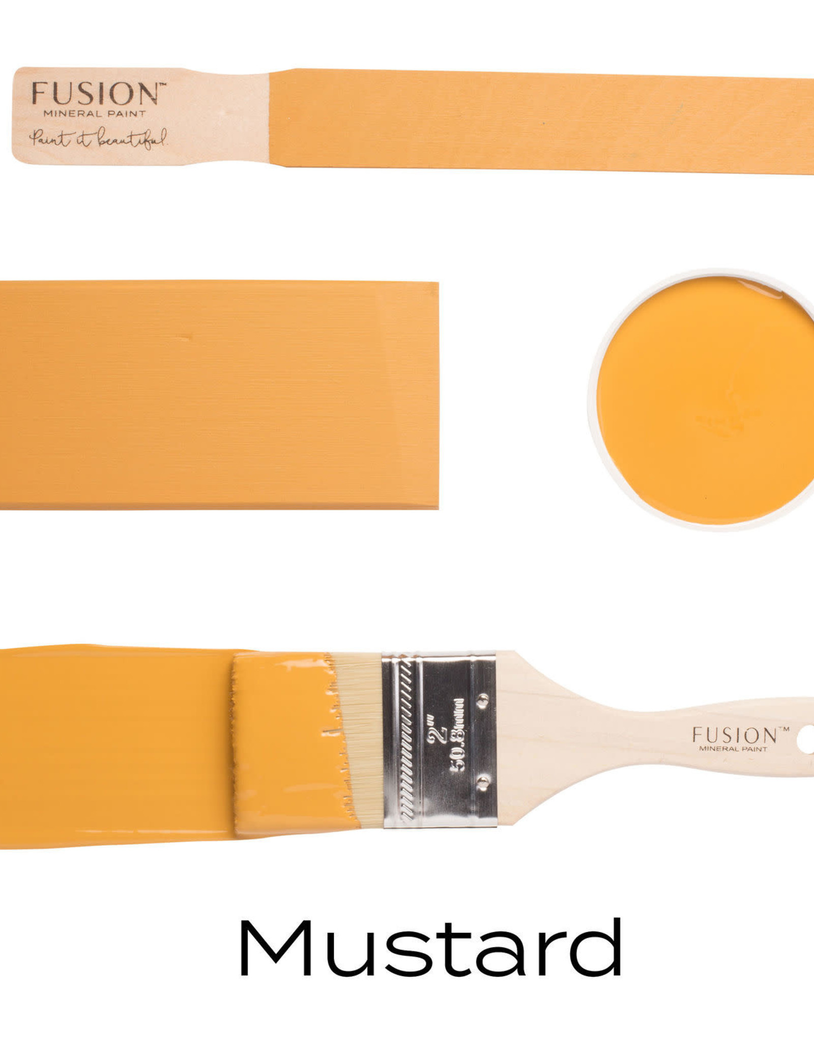 Fusion Mineral Paint Fusion Mineral Paint - Mustard 37ml