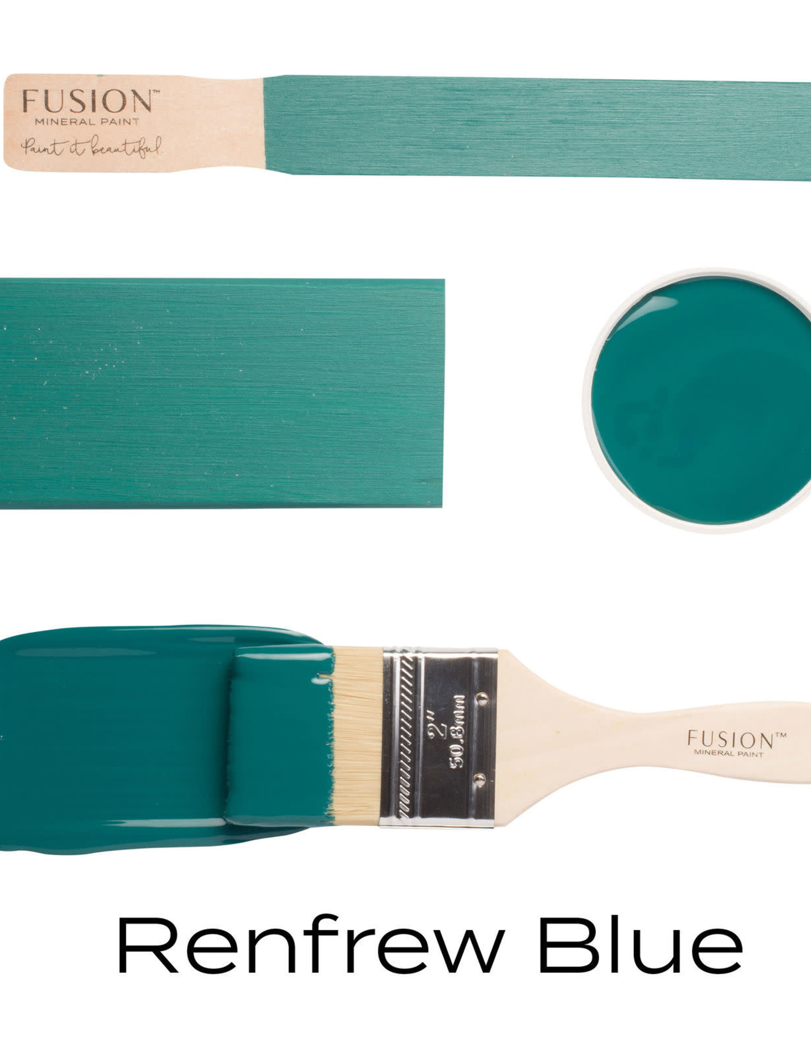 Fusion Mineral Paint Fusion Mineral Paint - Renfrew Blue 500ml