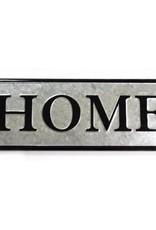 Home Galvanized Sign
