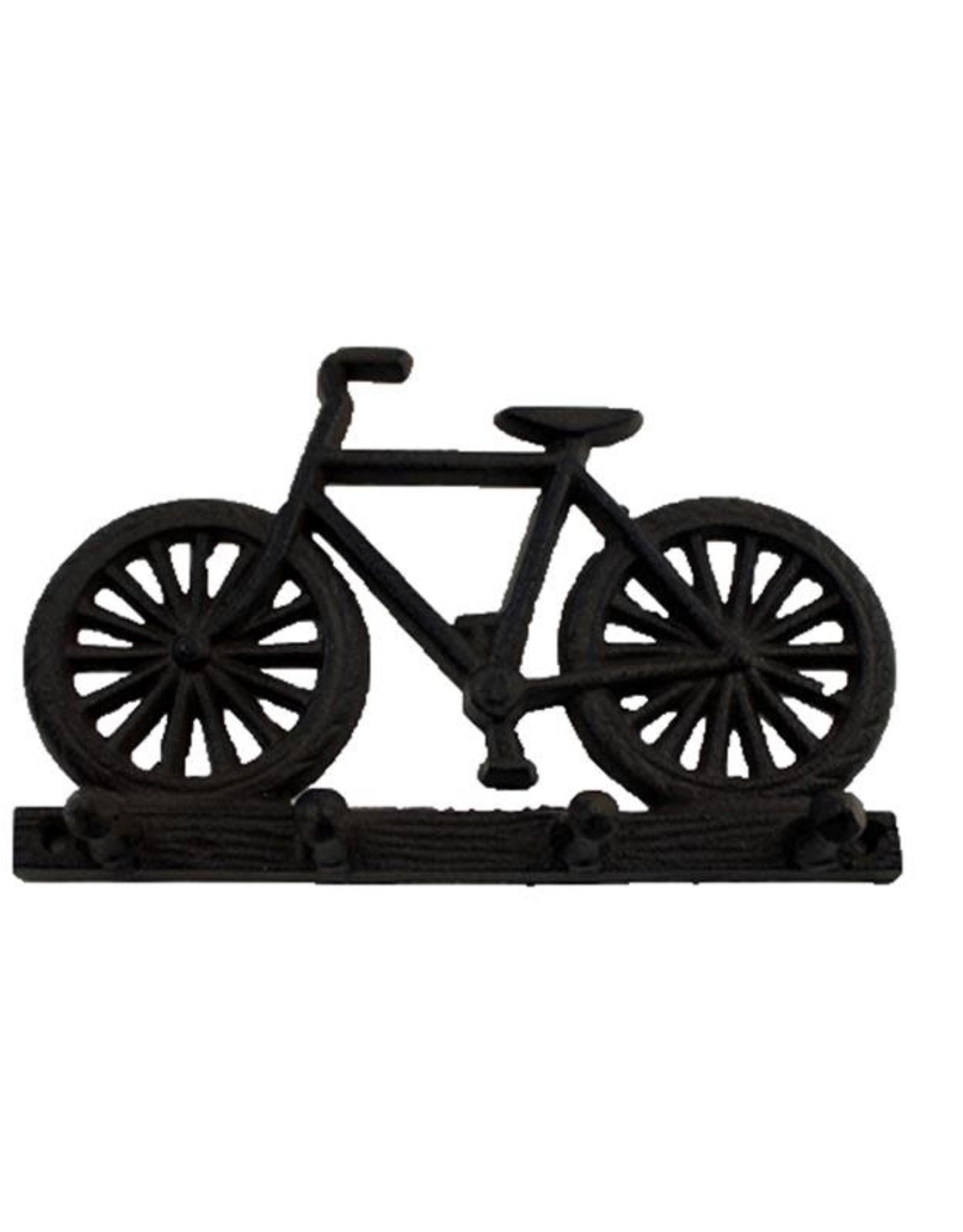 Cast Iron Bicycle Key Rack