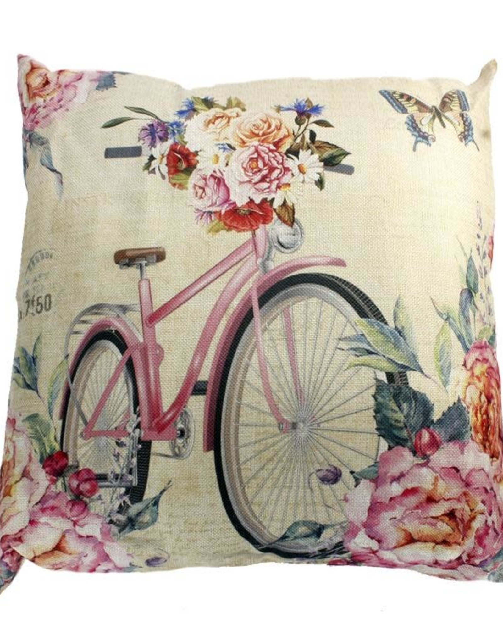 Bicycle Accent Pillow