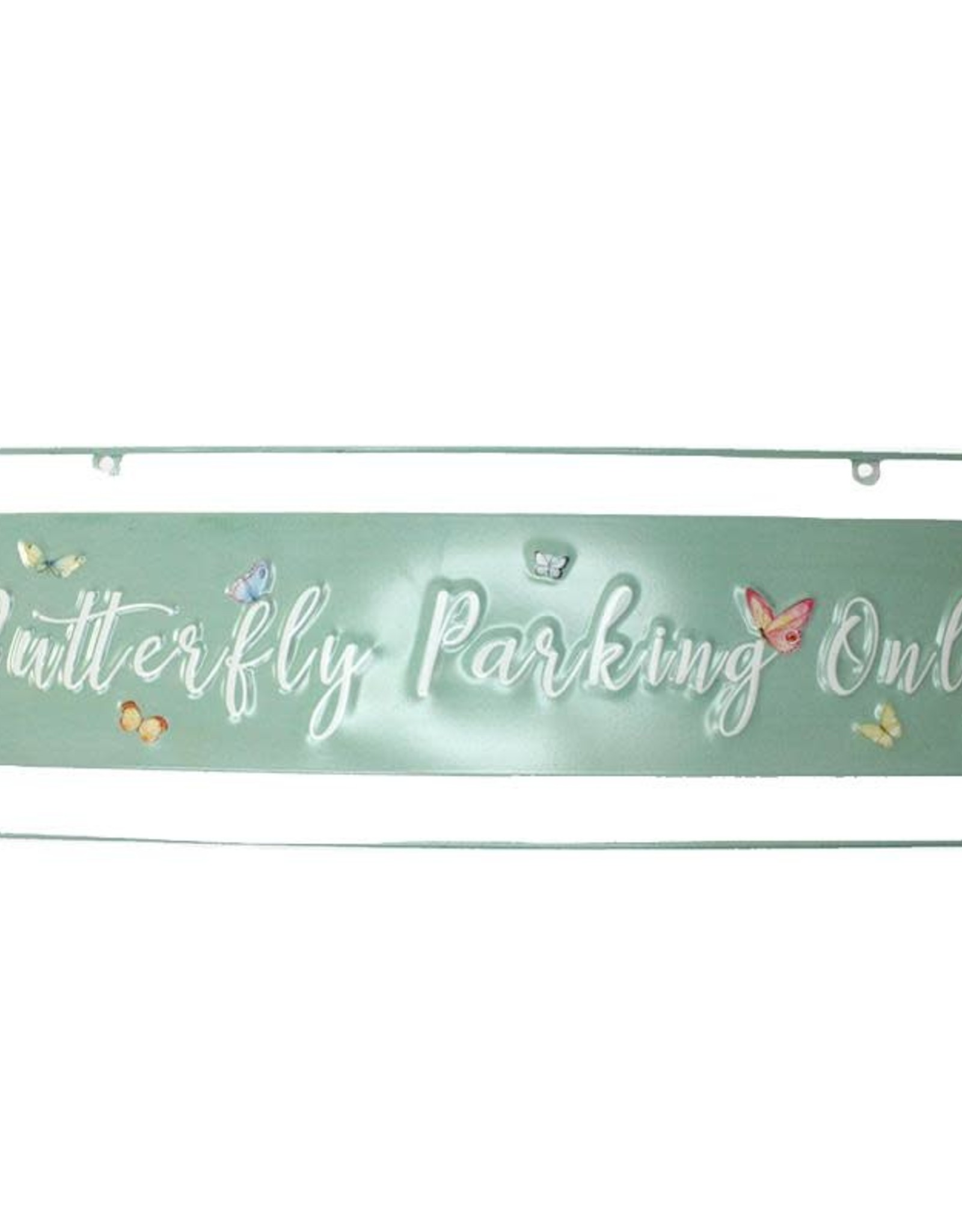 Butterfly Parking Sign