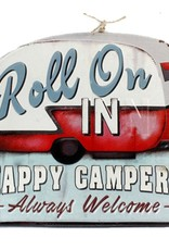 Happy Campers Sign