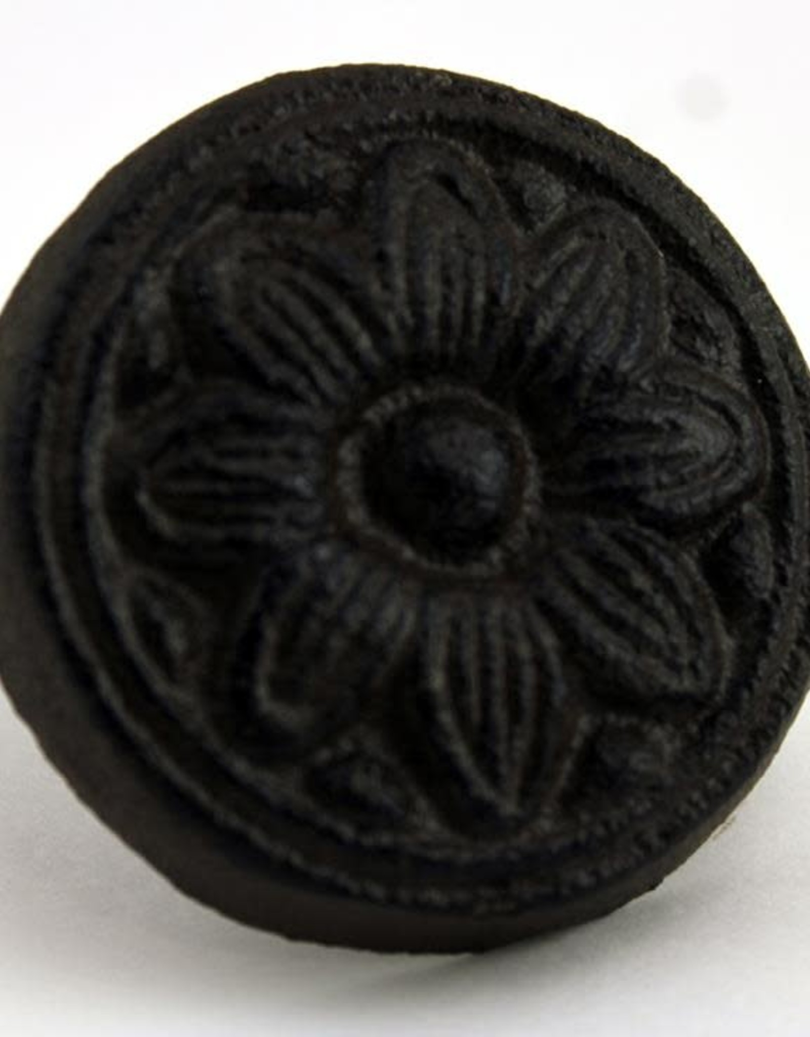 Cast Iron Flower Knob