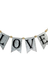Rustic Banner Love
