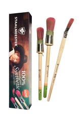 Staalmeester Pro-Hybrid Gift Box (3 Brushes)