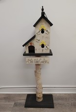 Bee Our Guest Birdhouse w/stand