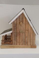 Barnboard Barn Birdhouse