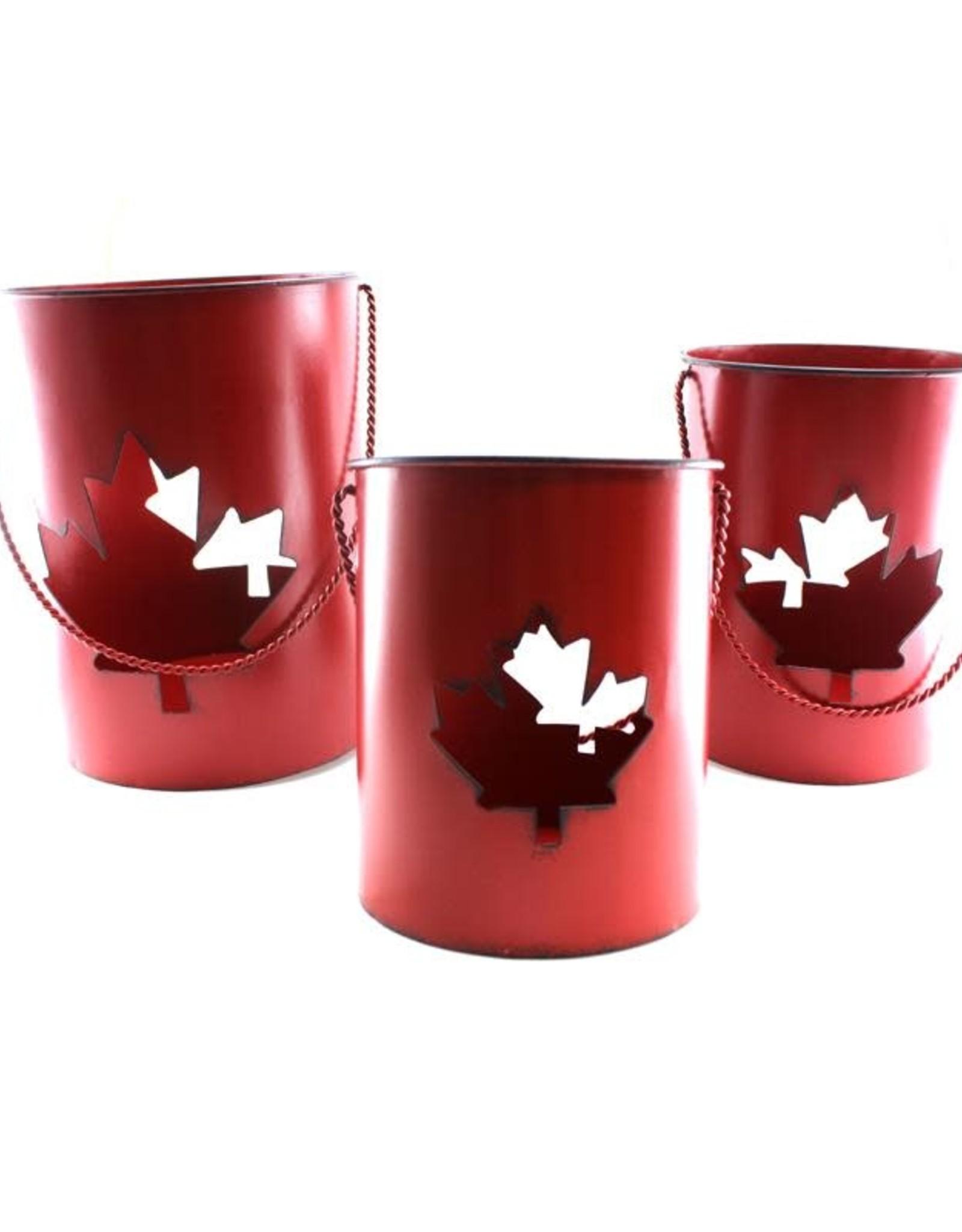 Canada Leaf Lantern - Medium