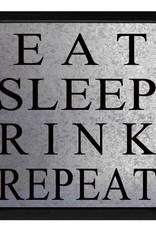 Eat Sleep Hockey Sign
