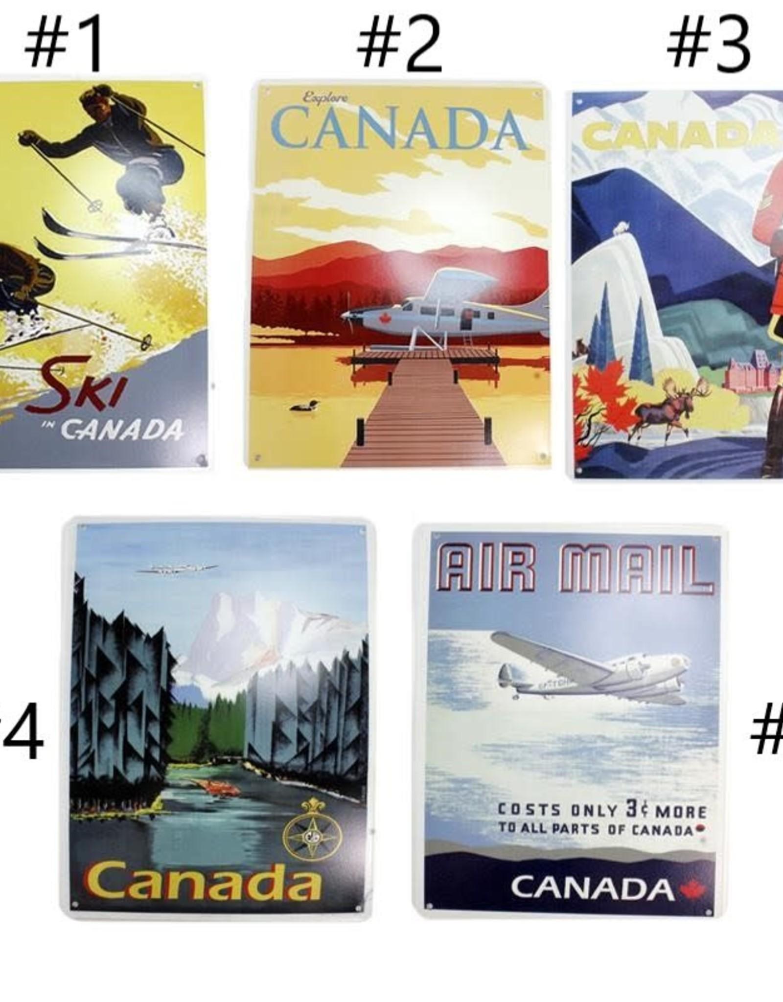 Vintage Canada Metal Print #1