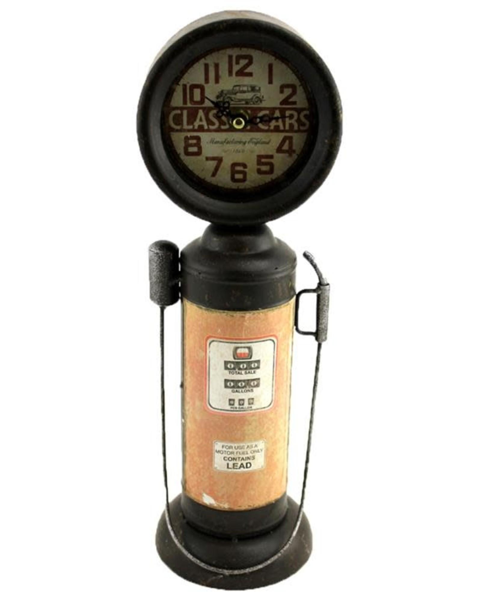 Vintage Gas Pump  Clock