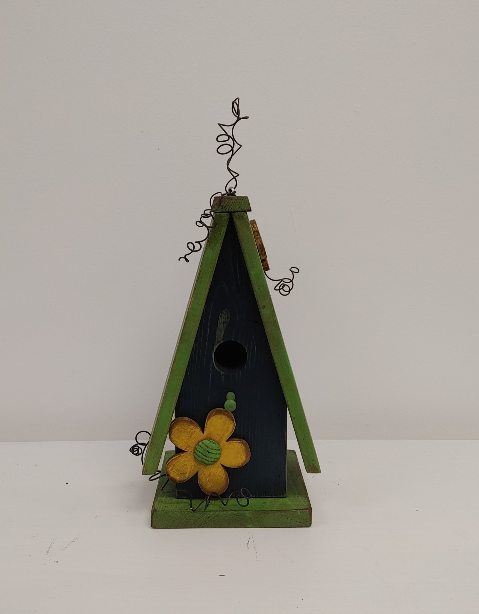 Colourful Wooden Birdhouse