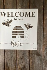 Welcome to our Hive Stencil