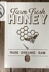 Farm Fresh Honey Stencil