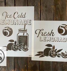 Fresh Lemonade Stencil -Option B