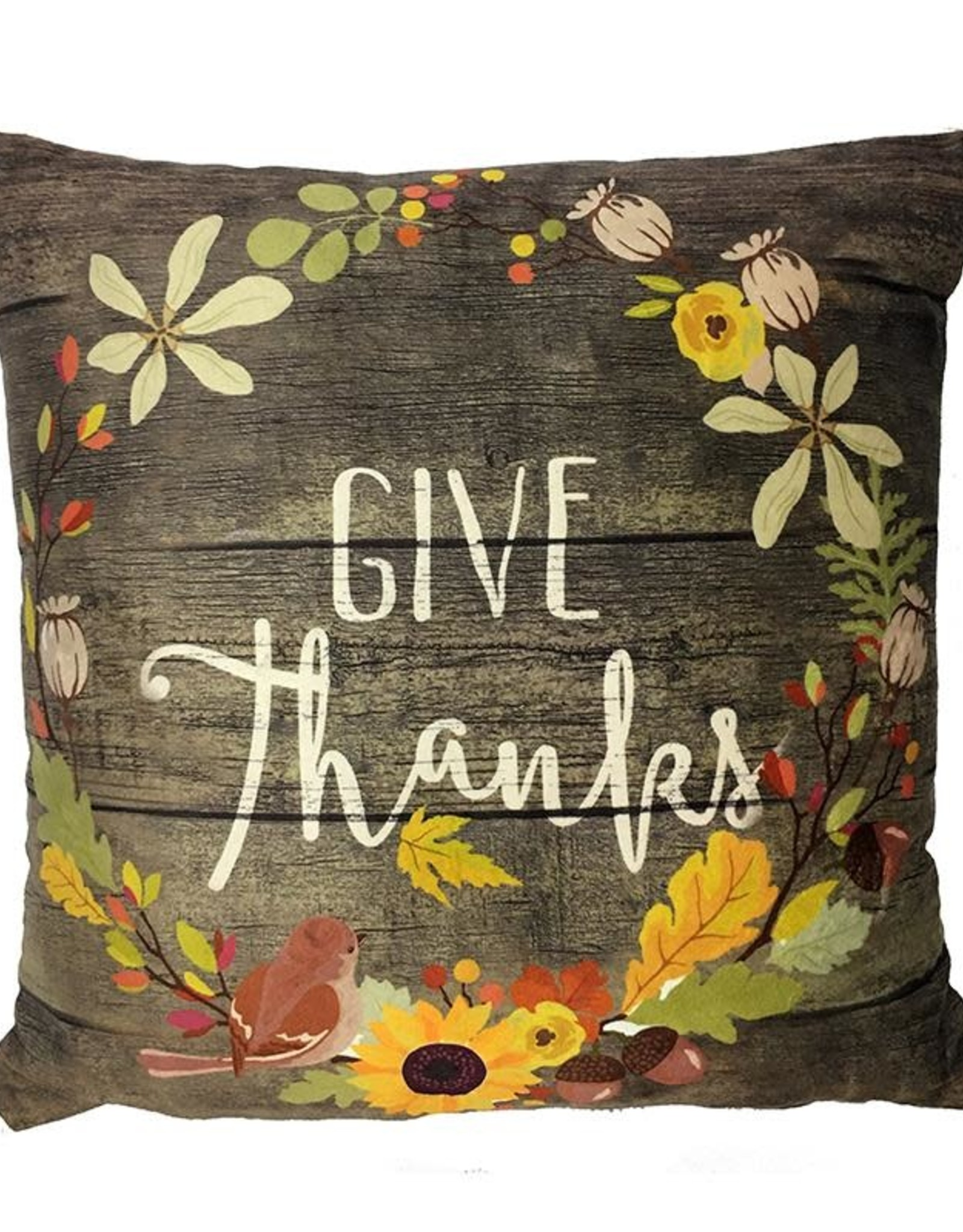 Pillow Give Thanks
