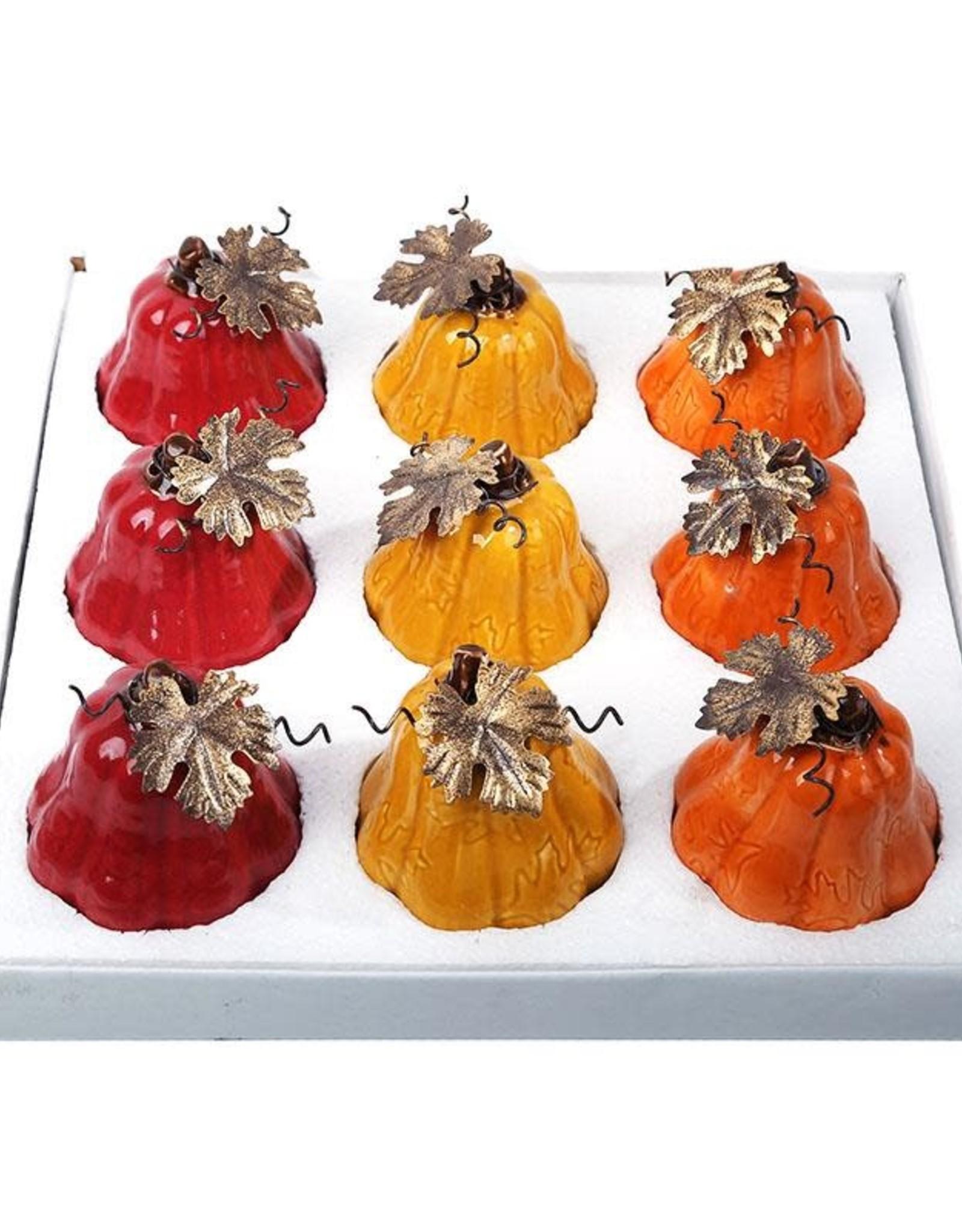 Ceramic Tall Pumpkin