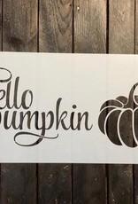Hello Pumpkin Stencil-small