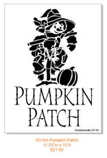 Pumpkin Patch Stencil