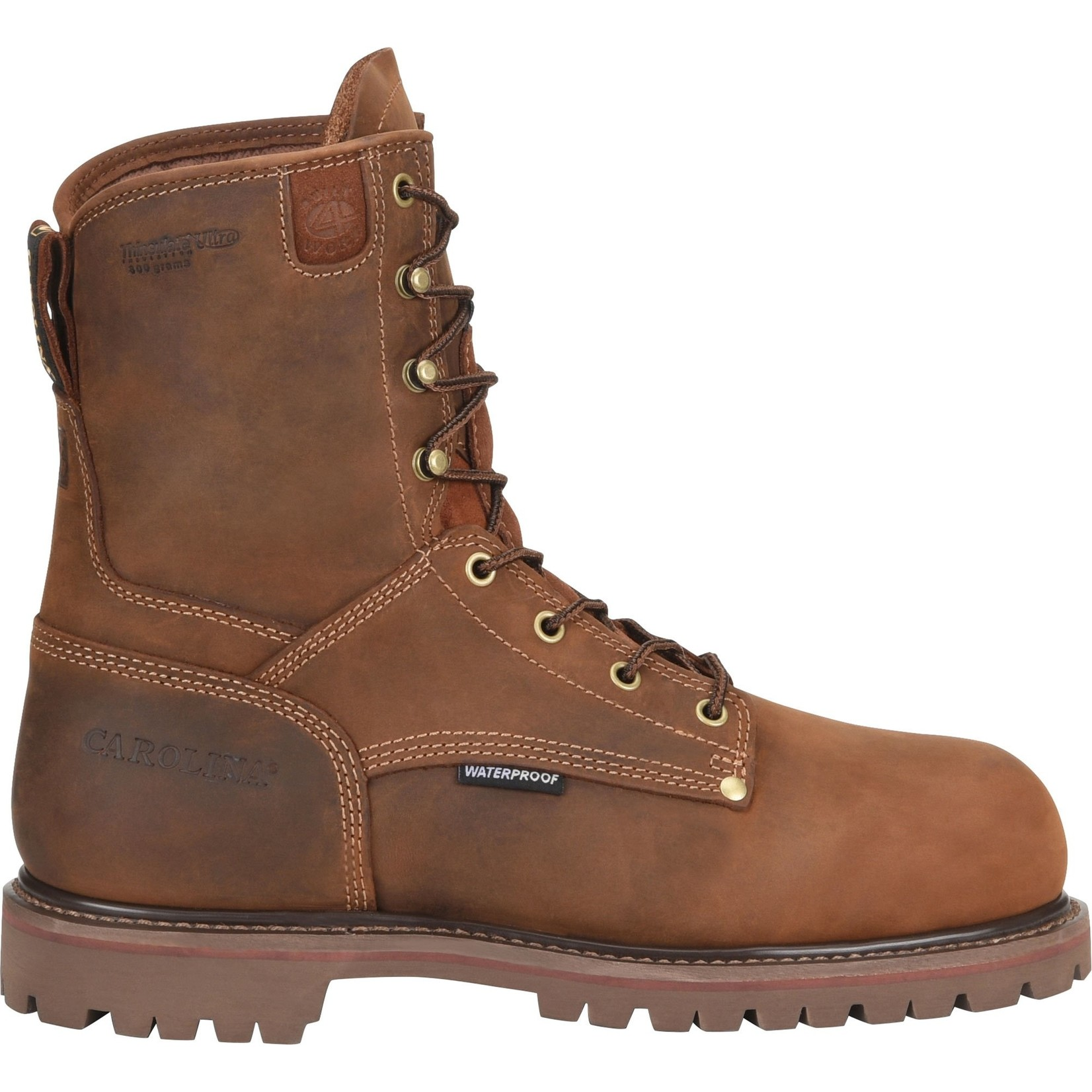 "Carolina Men's Carolina 8"" Waterproof Soft Toe Insulated 28 Series CA9028"