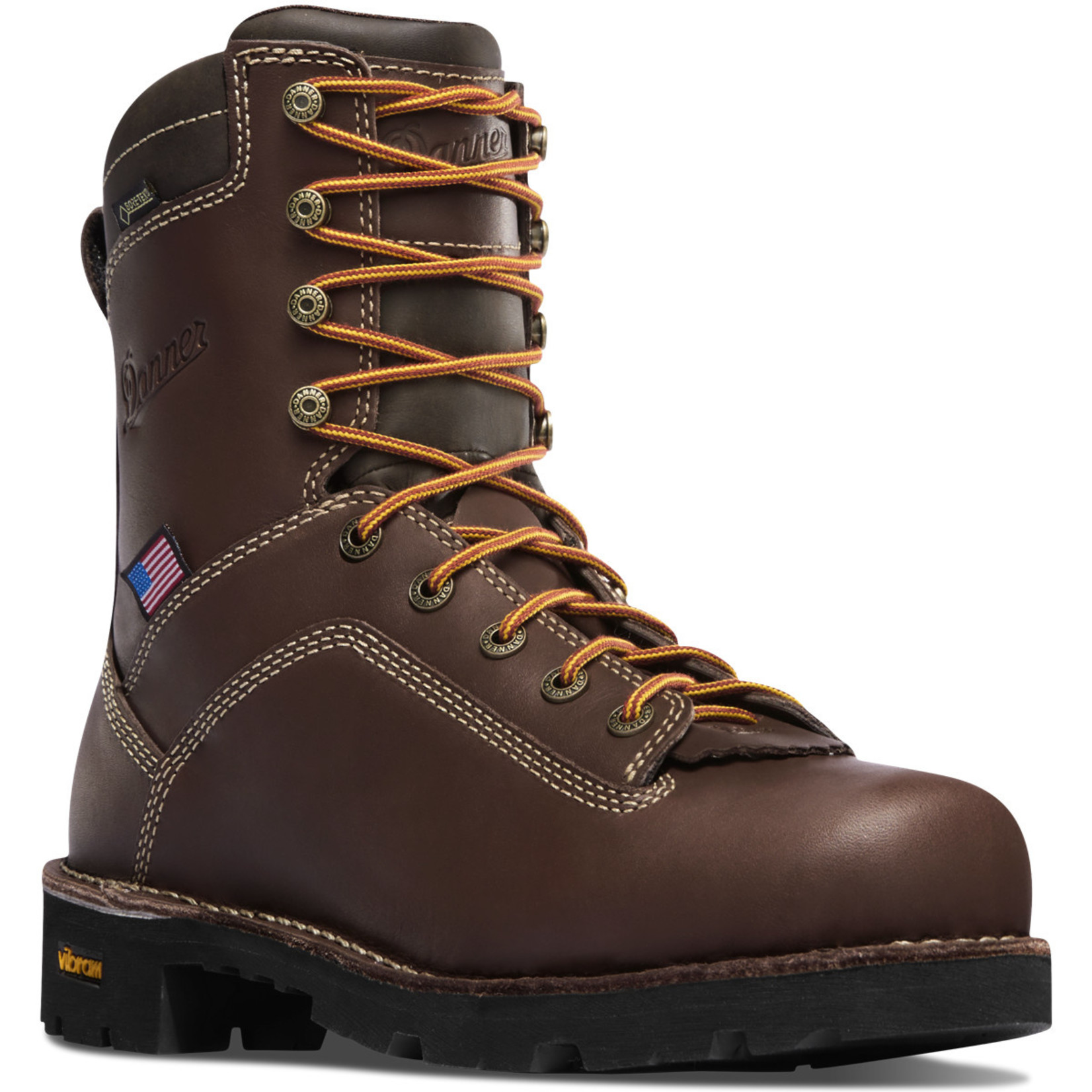 """Danner Men's Danner 8"""" Soft Toe Waterproof Quarry USA 17305"""