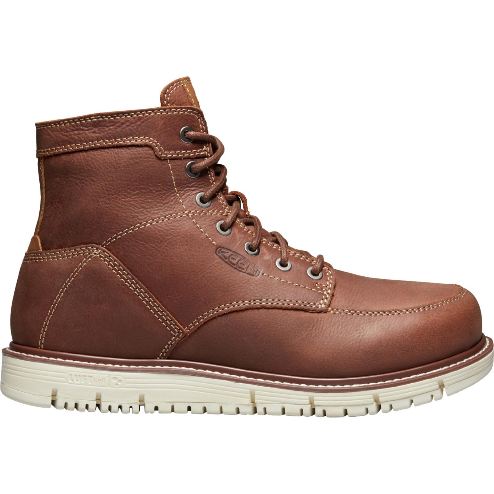 """Keen Men's Keen 6"""" Soft Toe San Jose Gingerbread/Gum 1020146"""