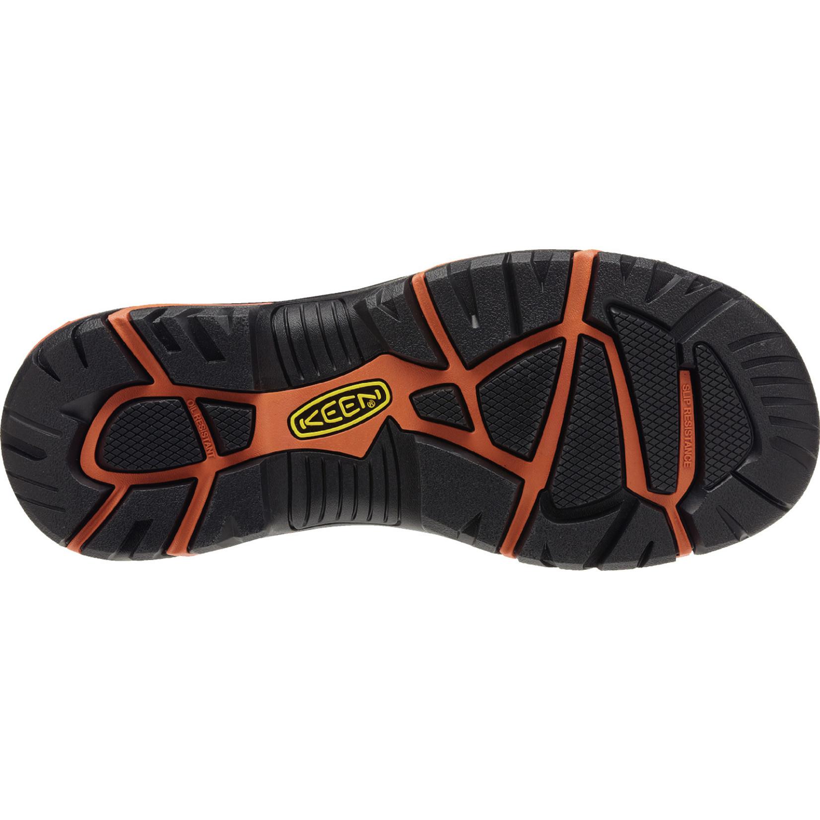 Keen Men's Keen Steel Toe Braddock Low Black/Bossa Nova 1011244