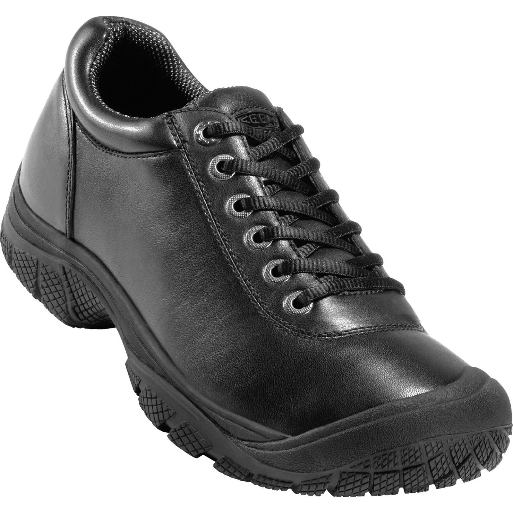 Keen Men's Keens Soft Toe PTC Work Shoe Black 1006981