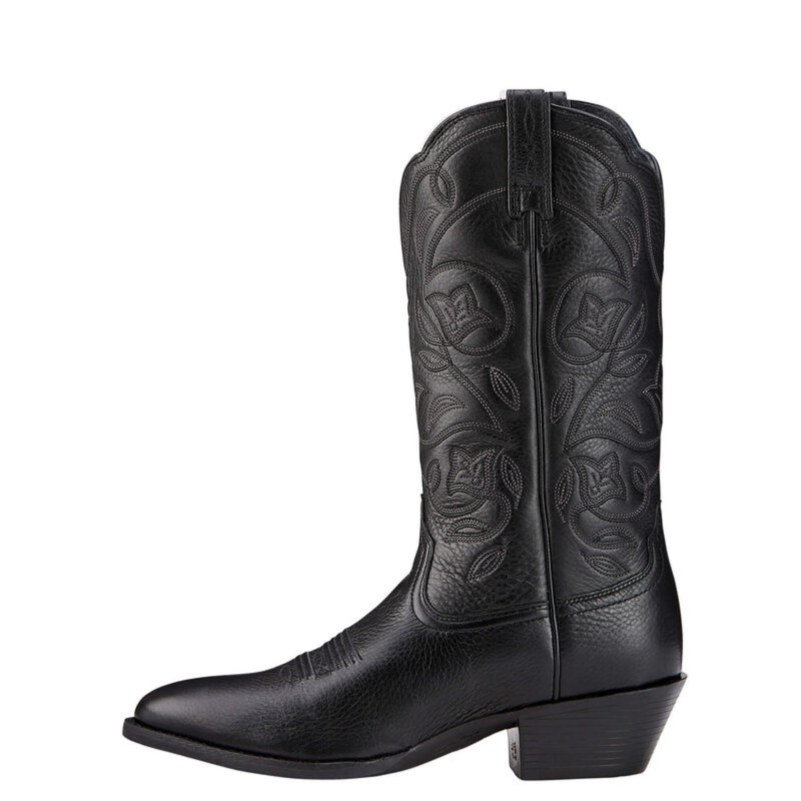 Ariat Women's Ariat Heritage R Toe Wide Calf 10001037