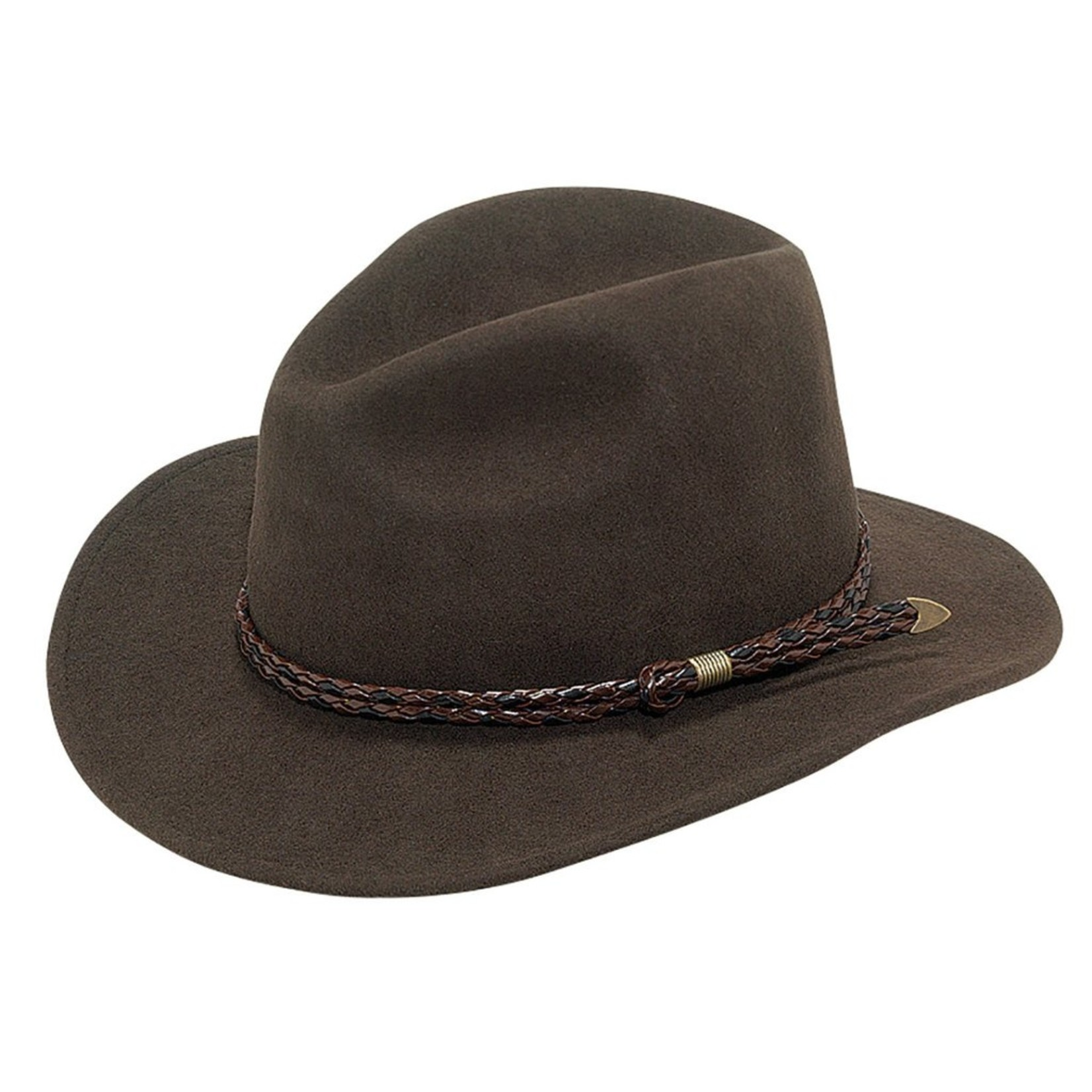 Twister Crushable Wool Brown Omaha 7211402