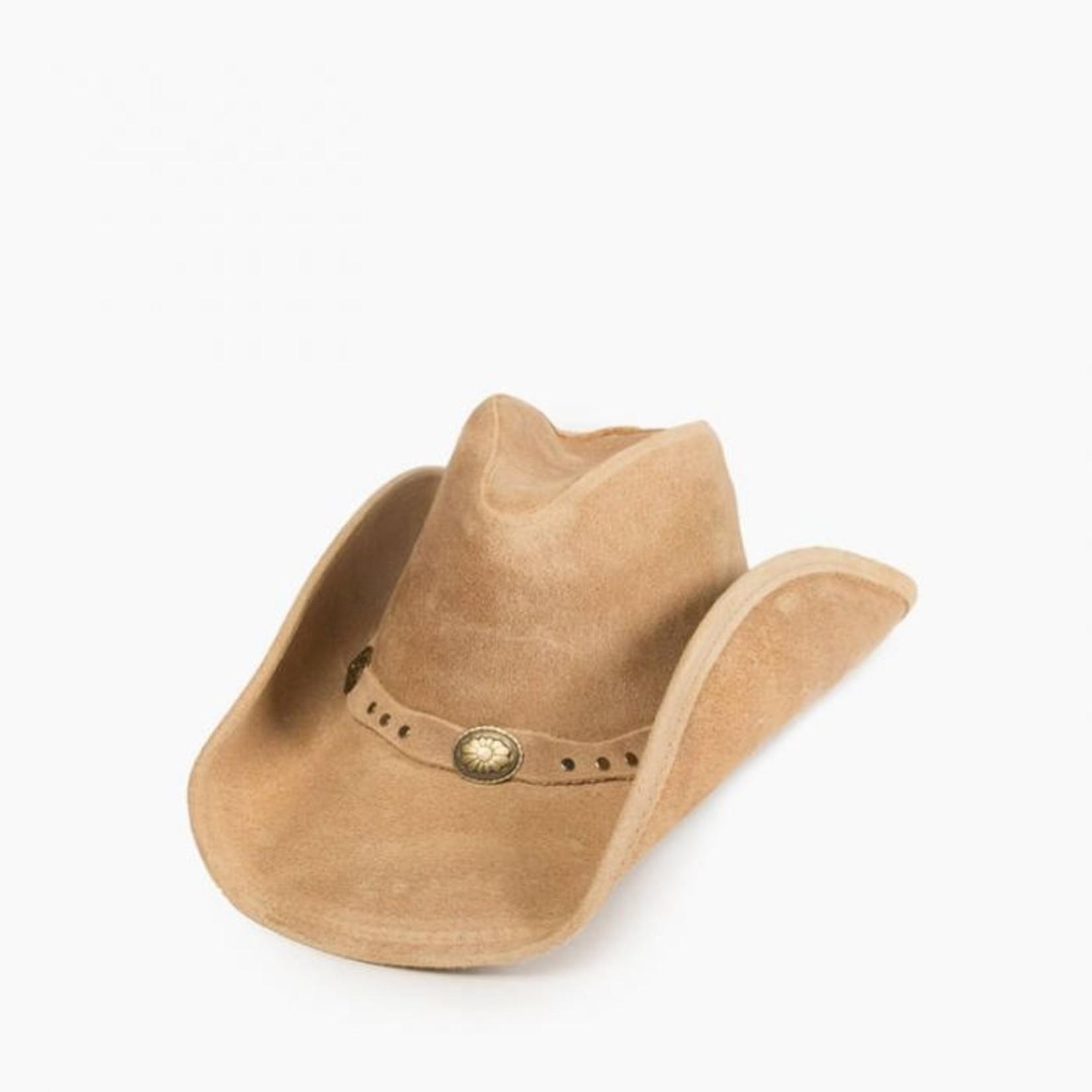 Minnetonka Minnetonka Silverton Dude Hat Tan 9611