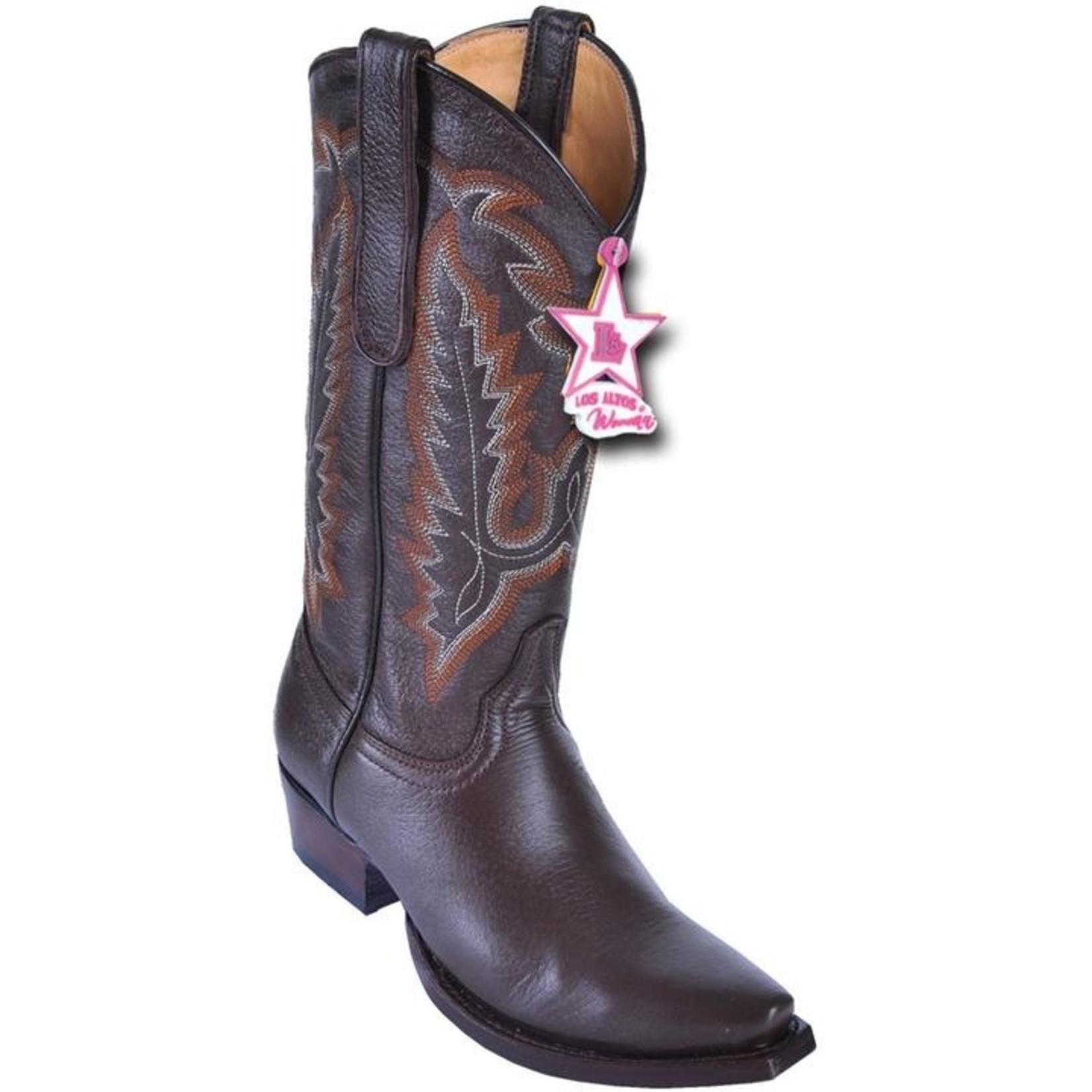 Women's Los Altos Snip Toe Deer Brown 348307