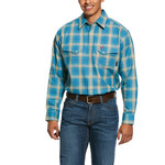 Ariat Men's Ceramic FR Sanders Classic Fit Snap Work Shirt 10030318