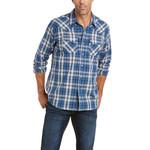 Ariat Men's Ariat Abilene Retro Fit Shirt Midsummer Night 10035446