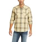 Ariat Men's Ariat Austin Retro Plaid Long Sleeve Western Shirt 10036231