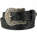 Leegin Tony Lama Westerley Ride Belt Black C41513