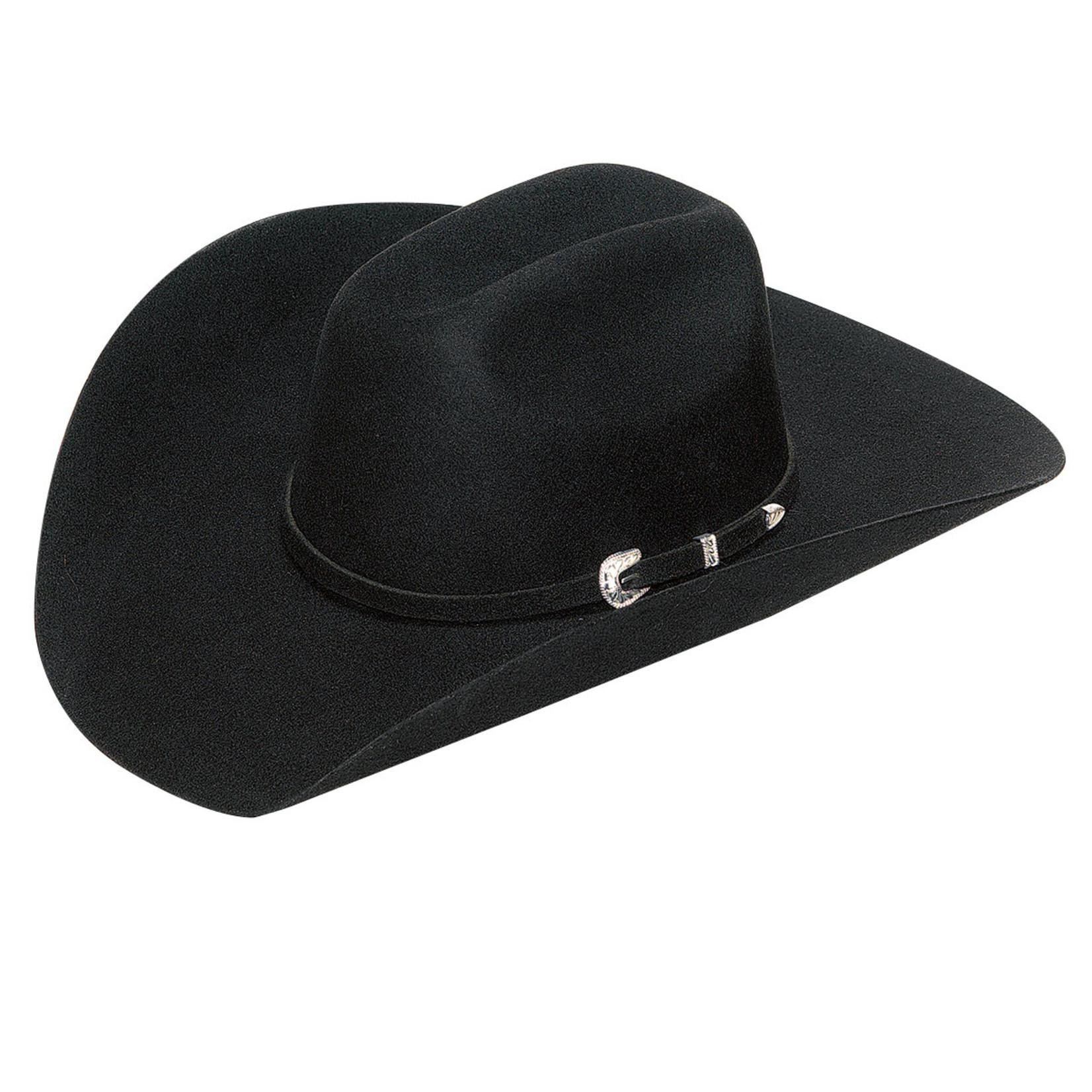 Twister Laredo 3x Wool Hat Black T7532001