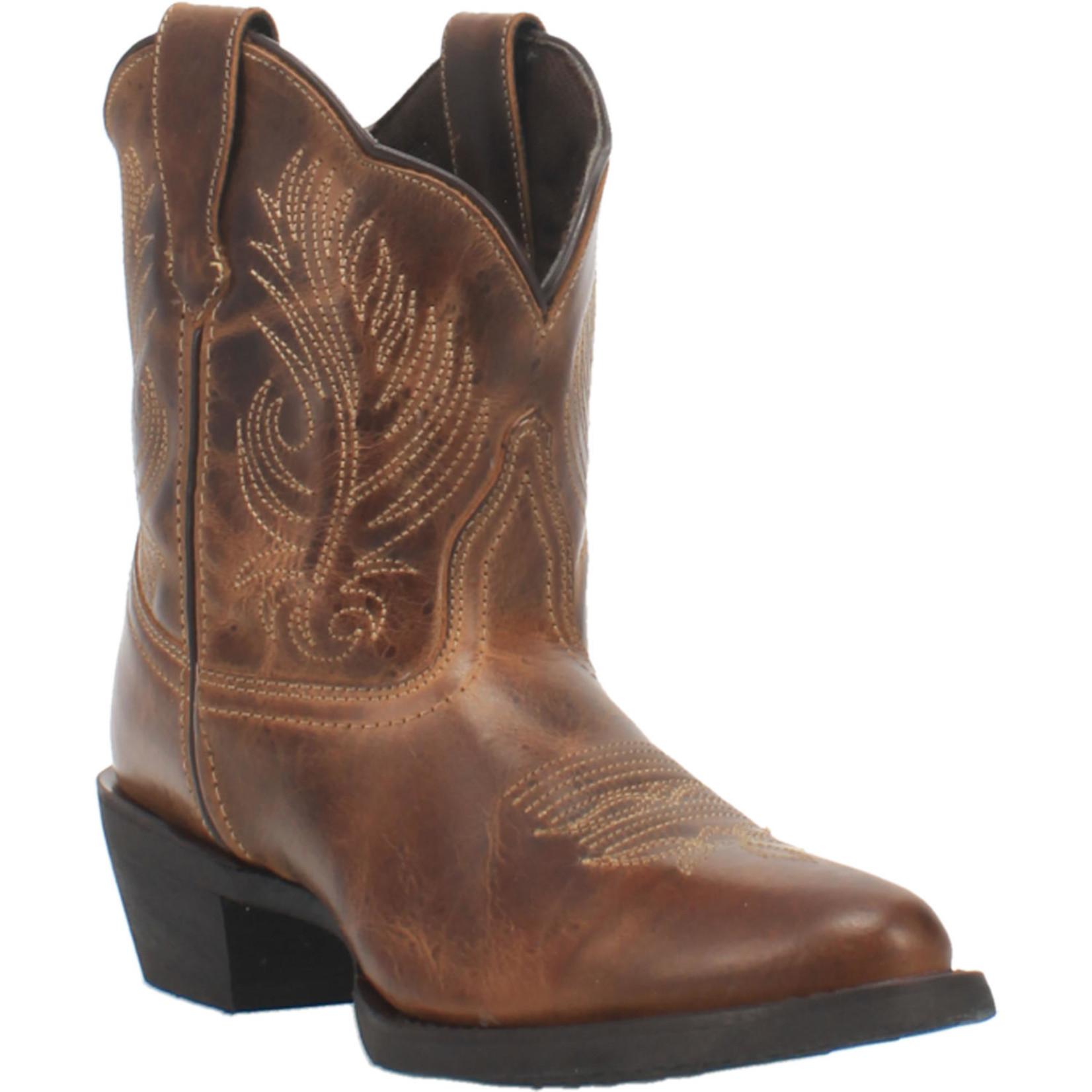 Laredo Women's Laredo tori Cowgirl Boot Brown 51044