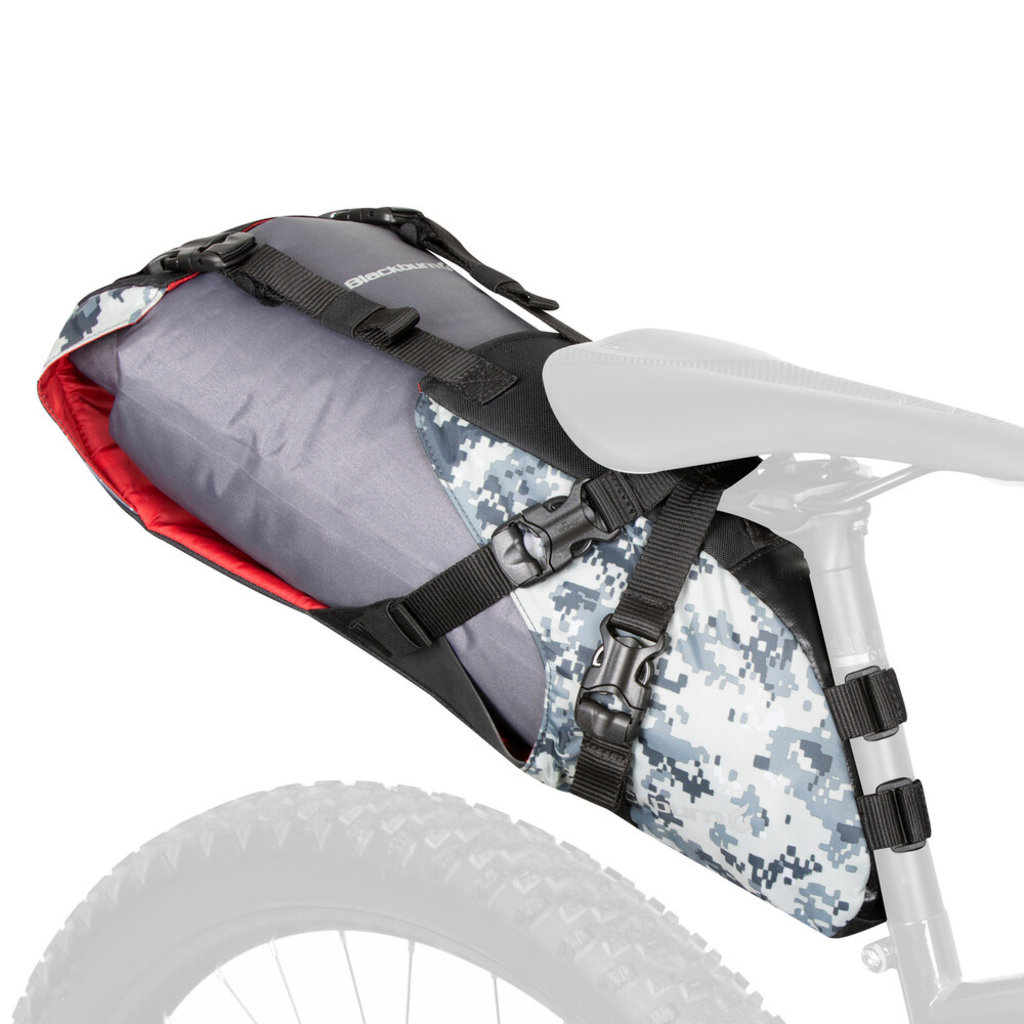 Bag - Seat Pack with Dry Bag - Blackburn Outpost - Camo