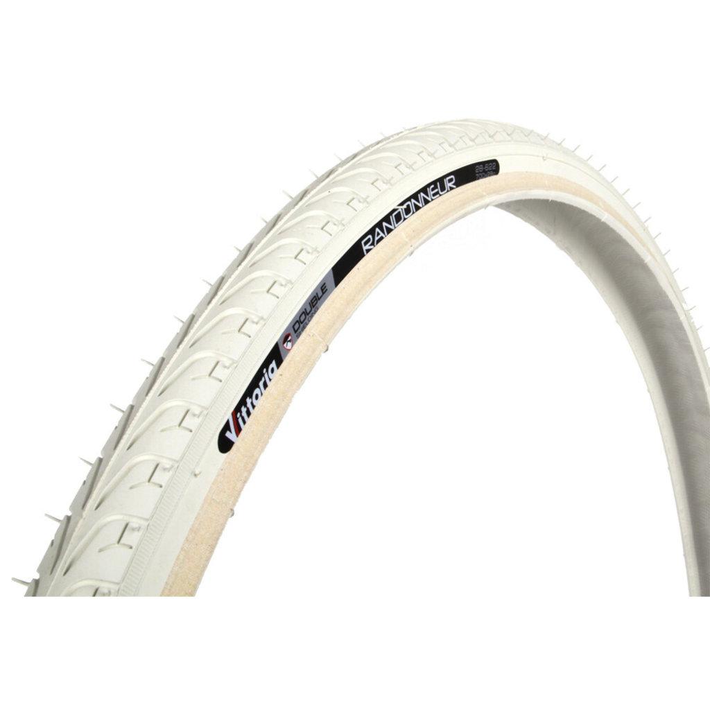 Tire - 700 x 28c - Vittoria Randonneur II - White